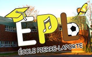 Le site web de l'École Pierre-Laporte :
