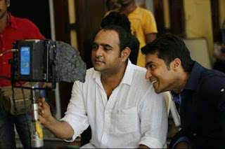 Surya-director-vikram-kumar-in-24-shooting-spot-pics