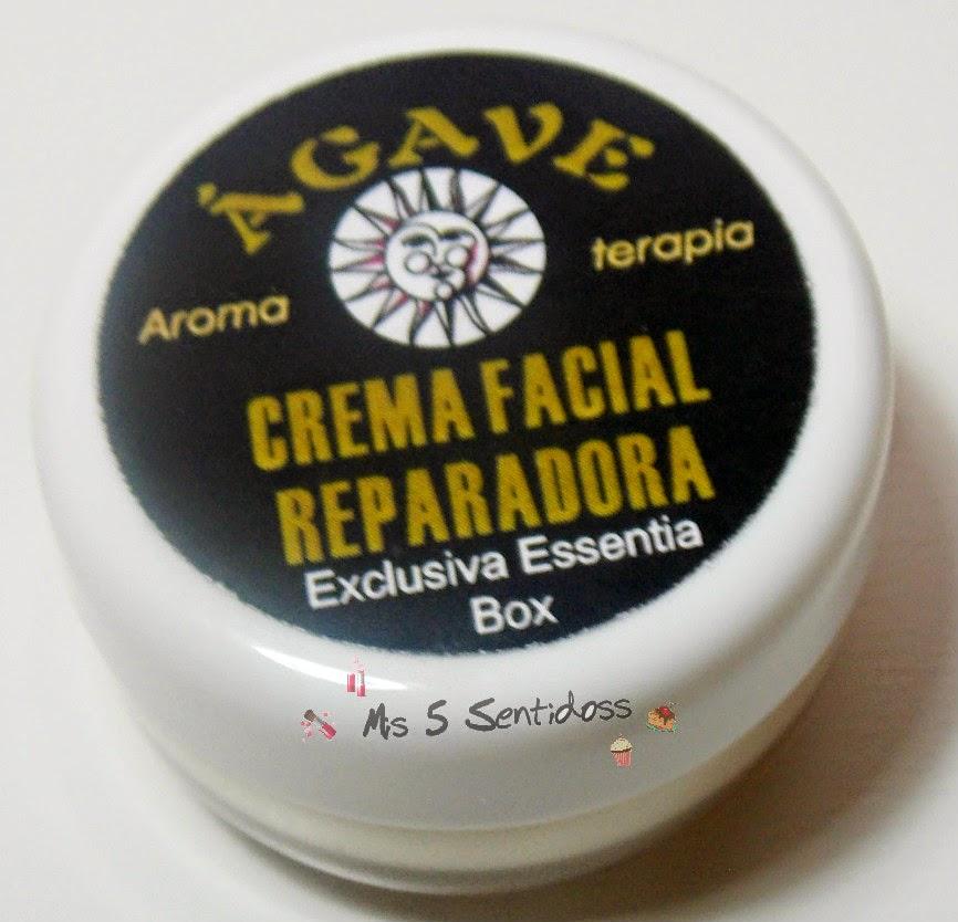 Ágave, crema facial reparadora