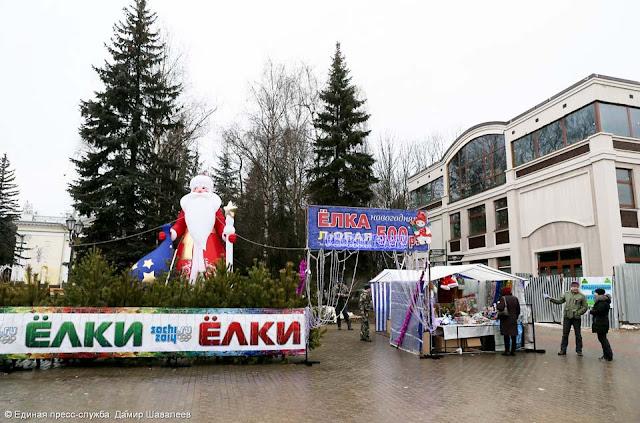 В Сергиевом Посаде открылись ёлочные базары