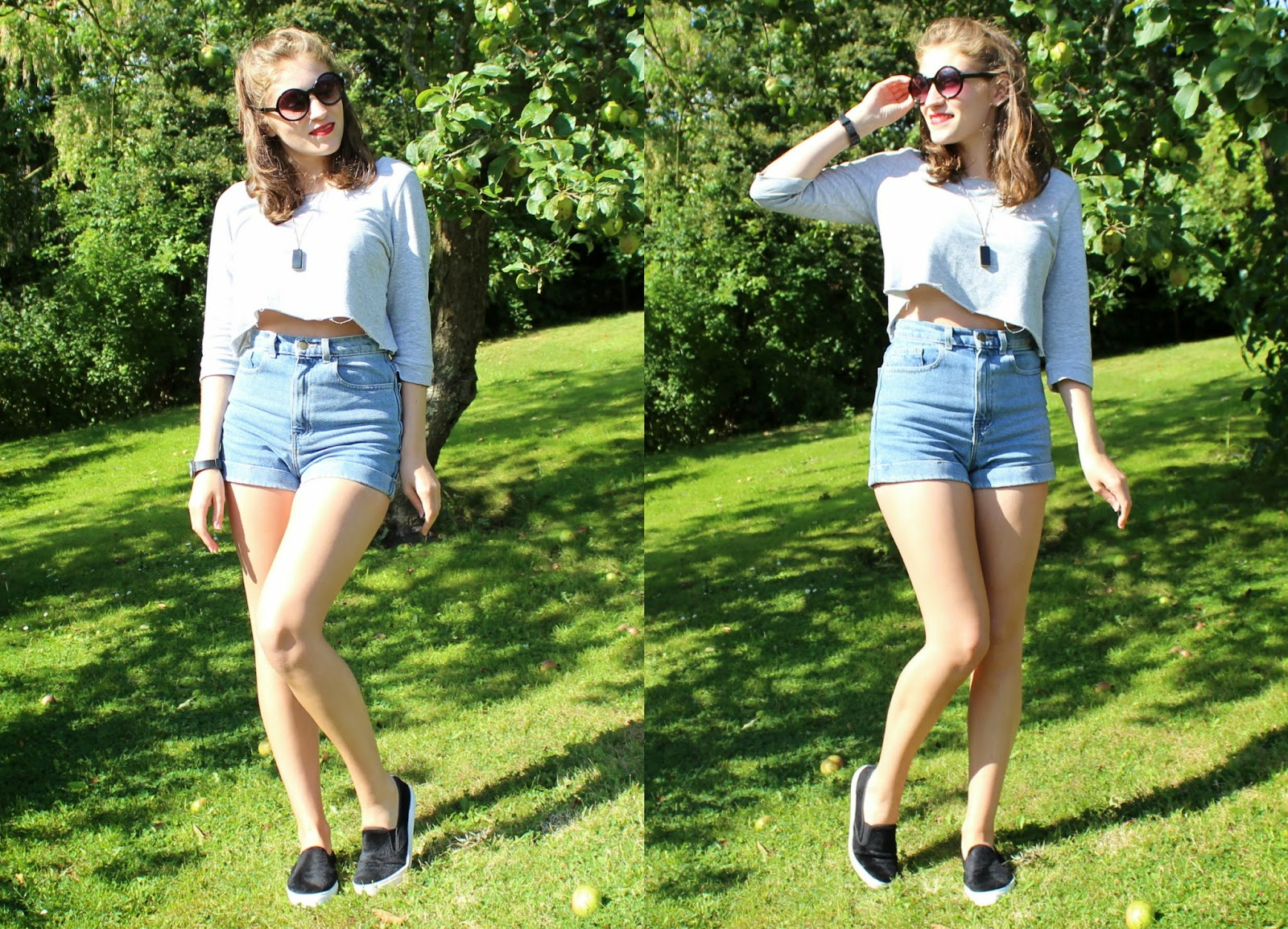 OOTD: Crop & Denim