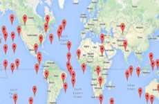 SatelliteSurfer: mapa de satélites online en vivo y en tiempo real