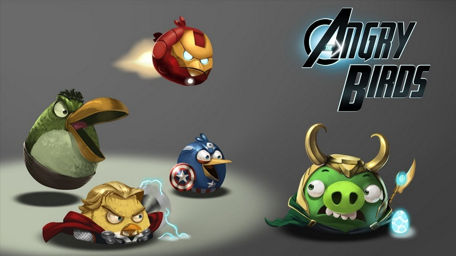 Angry Birds - Superheroes