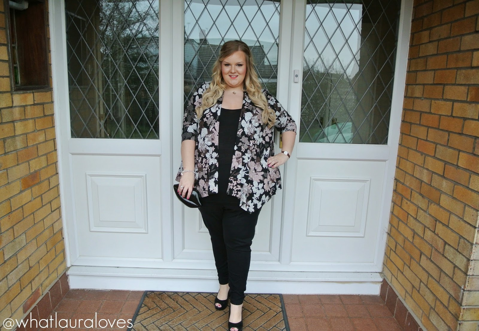 Ann Harvey at Bon Marche Plus Size Blogger Review