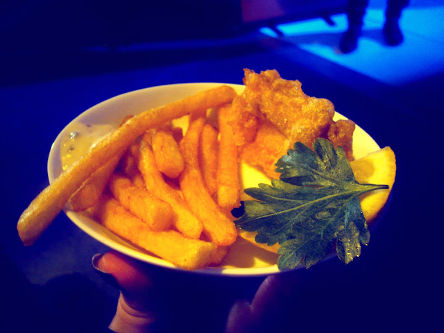 Mini fish and chips