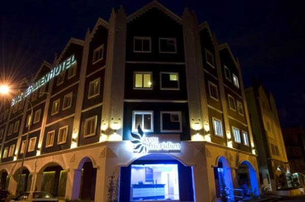Pelbagai Kemudahan Yang Disediakan Di Hotel Syaz Meridien Ini Antaranya Wifi Percuma Disetiap Bilik LCD Skrin Tv Berserta Siaran Astro Dan Lain Lagi