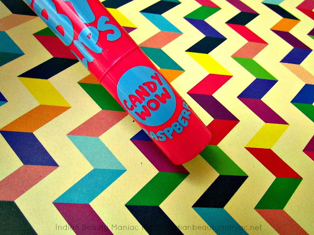 Maybelline Baby Lips Candy Wow, Candy Wow, Maybelline Lip Balm, New Launch, Review, Indian Beauty Blogger, Indian Makeup Blogger