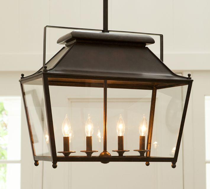 Kitchen Pendant Lighting Pottery Barn: Choosing A Hanging Lantern Pendant For The Kitchen
