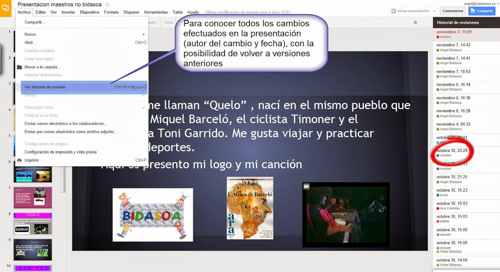 Bidasoa TIC: 2013