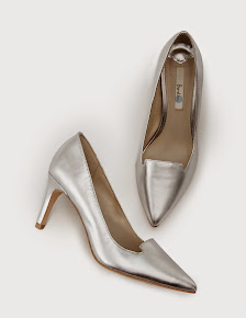 Boden Silver shoes