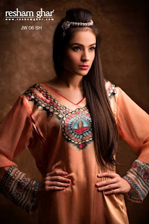 Resham Ghar Eid Collection 2013-2014