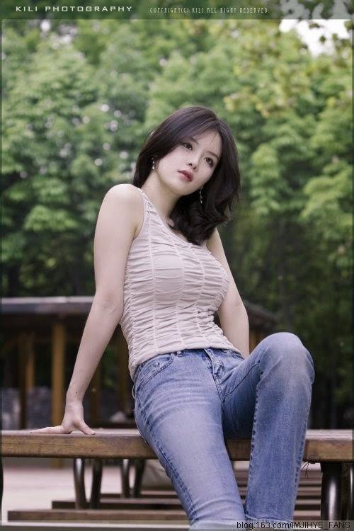 galeri foto im ji hye   model korea yang seksi   wagz