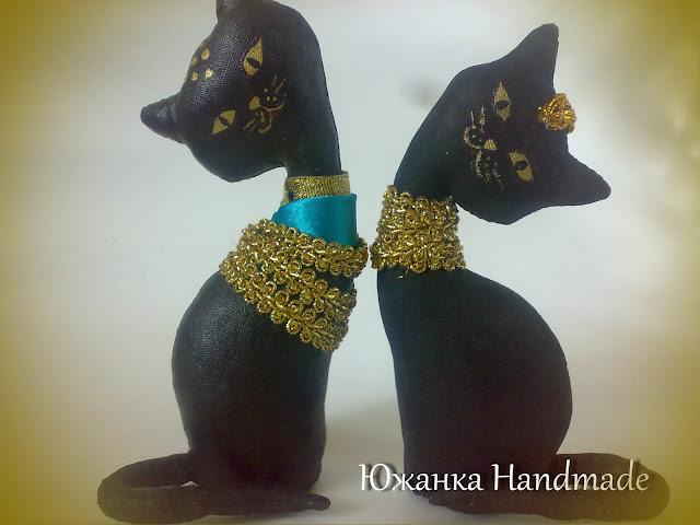 кофейные кошки статуэтки в стиле Древнего Египта