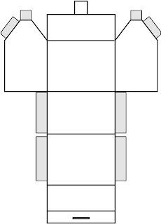 moldes para E.V.A de caixinhas lembrancinhas