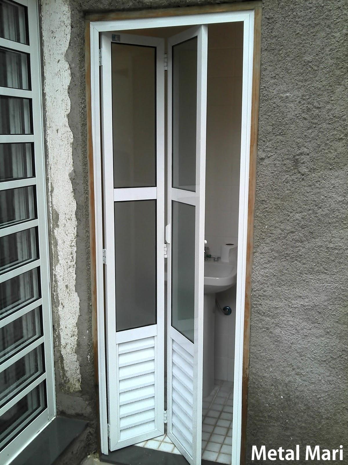 Metal Mari Esquadrias : Porta camarão de alumínio ou articulada  #5F5039 1200 1600