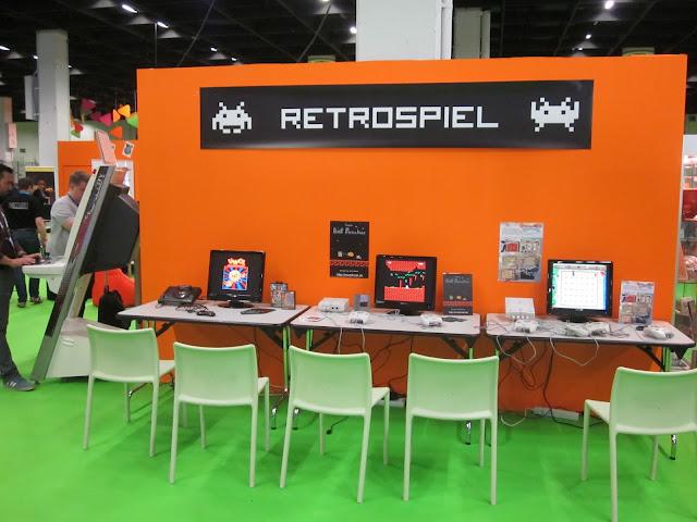 Primer día de retro y homebrew español en la GamesCom