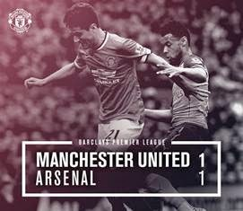Super Big Match MU vs Arsenal Imbang 1-1