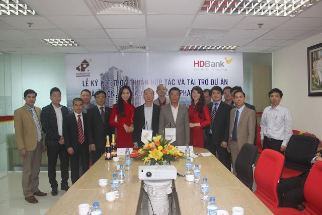 Lễ ký kết hợp tác với ngân hàng HD Bank