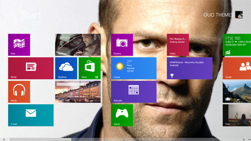 Jason Statham Theme For Windows 7 And 8