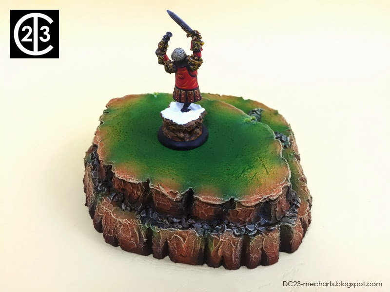 Warmachine Terrain - Hills by DC23photo