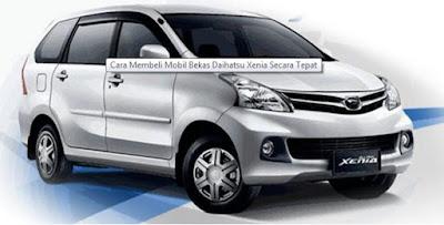 Harga Mobil Daihatsu Xenia Bekas Info Harga Mobil Di Tahun 2016