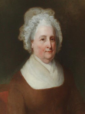 Headquarters Pays Tribute to Martha Washington