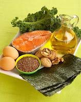 Omega-3 tartalmú táplálékok