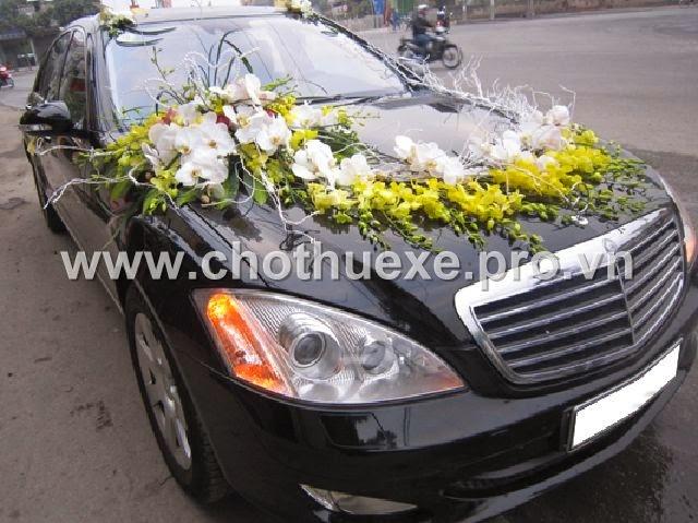 Cho thuê xe cưới Vip Mercedes S500 1