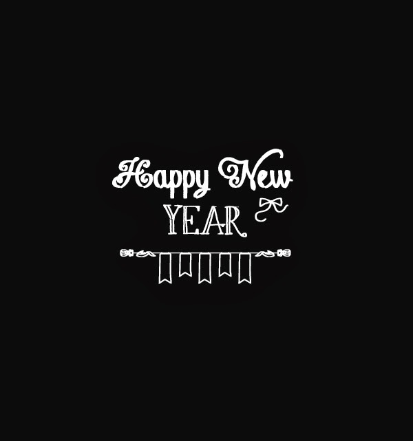 Happy new year grafik