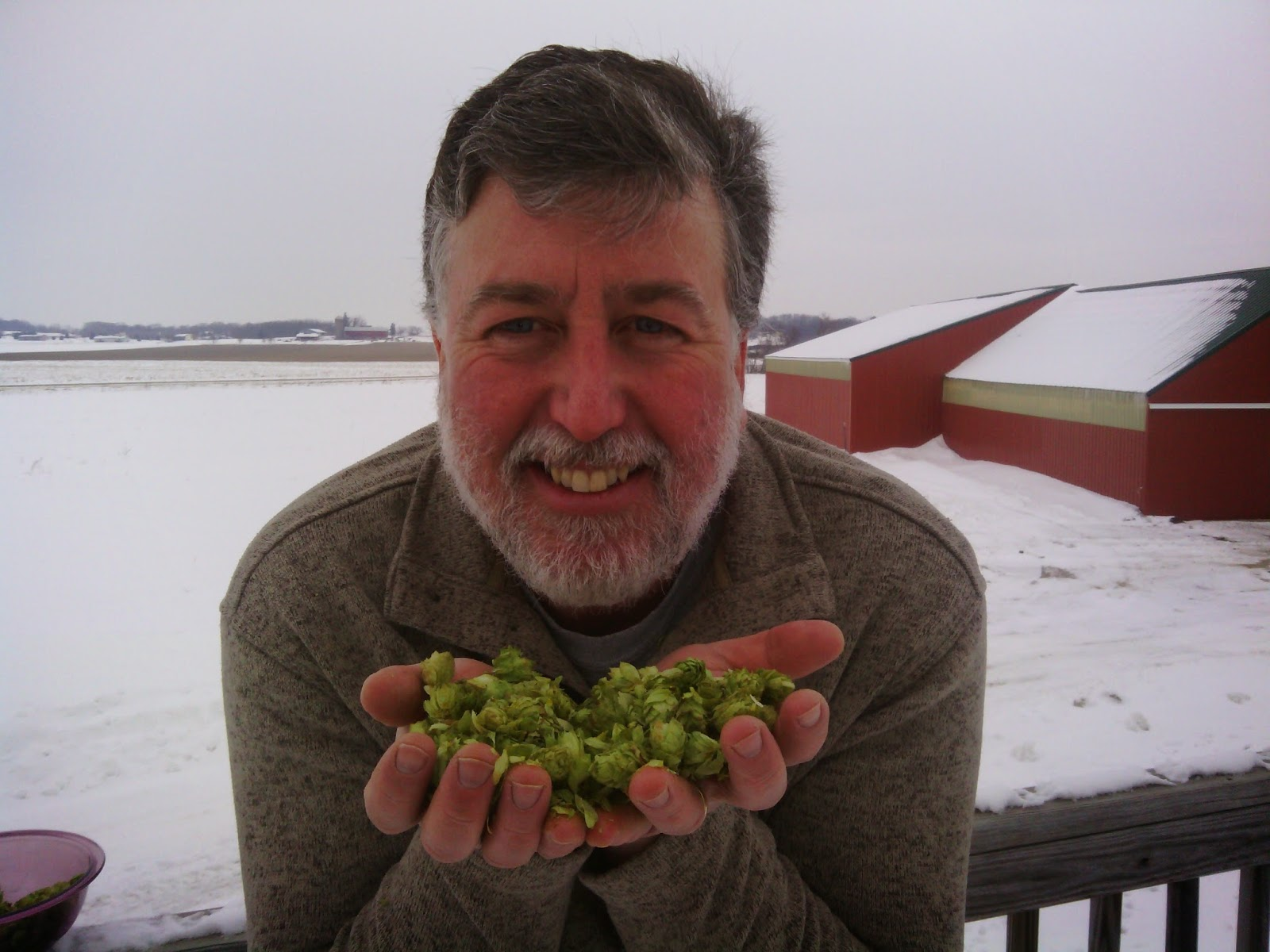 Rich Joseph of the Hop Garden in Wisconsin