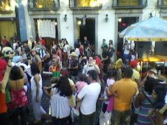 Circovolante pelas ruas de Mariana