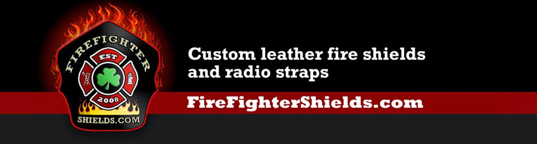 Custom Fire Helmet Shields