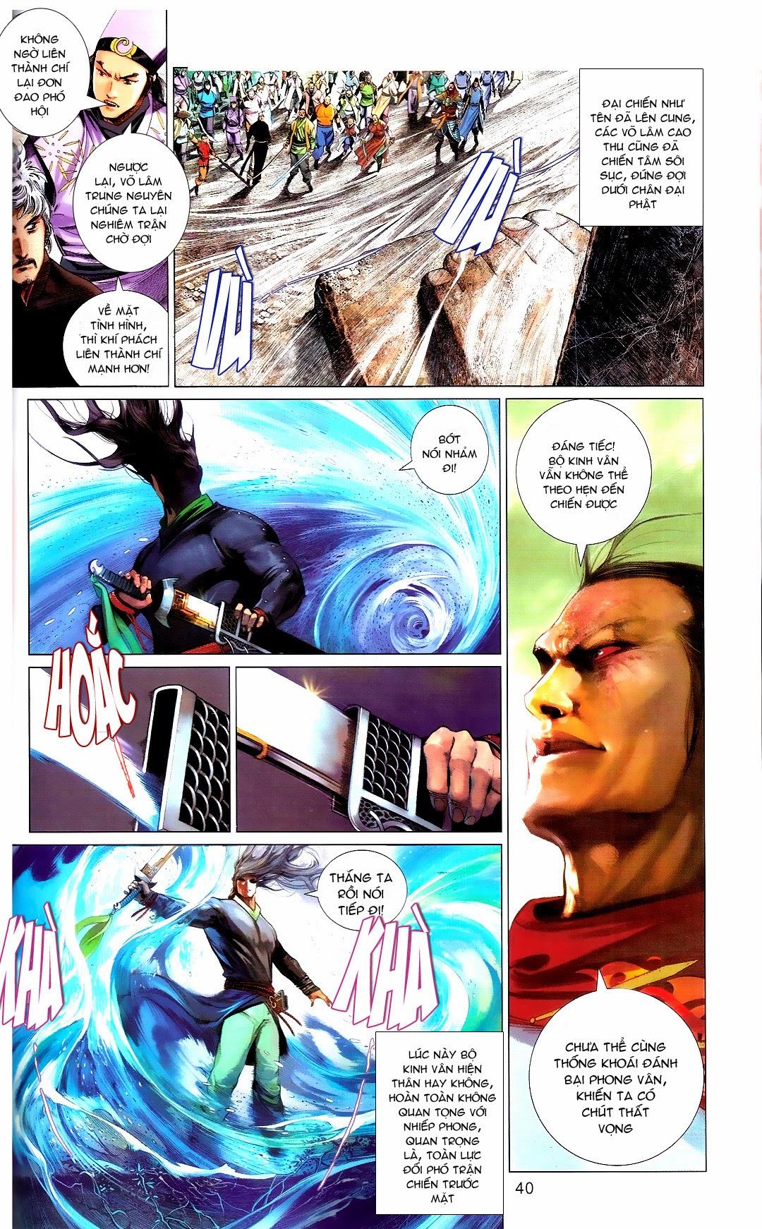 Phong Vân chap 666 Trang 40 - Mangak.info