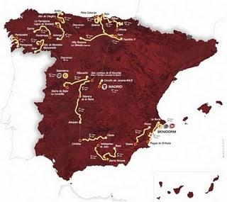 cartel vuelta Vuelta a España 2011 de Benidorm Madrid