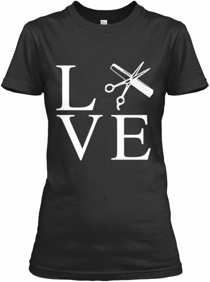 Women's hair stylist shirt
