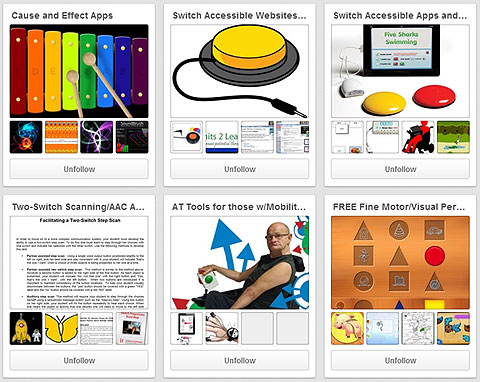 Lauren S. Enders Pinterest boards. Amazing accessibility boards.