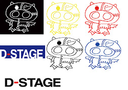 d-stage様 豚ちゃんロゴステッカー