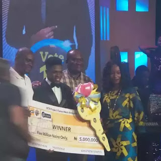 Some facts you must know about MTN project fame winner Jeff Akoh