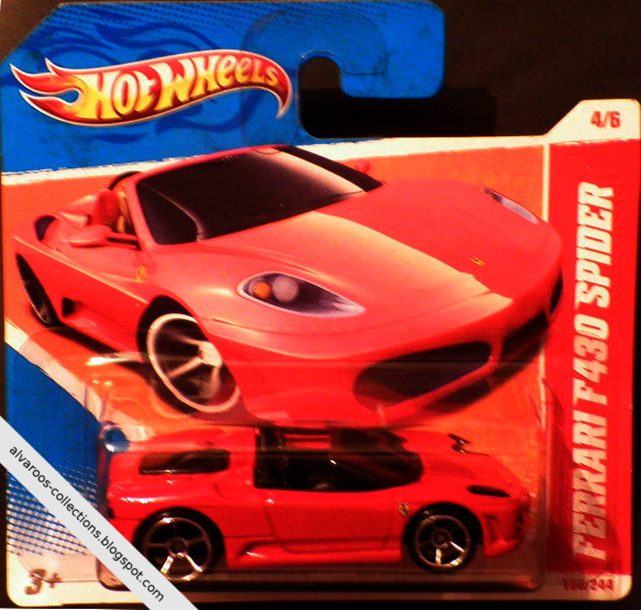 Hot Wheels:  Ferrari F430 Spider
