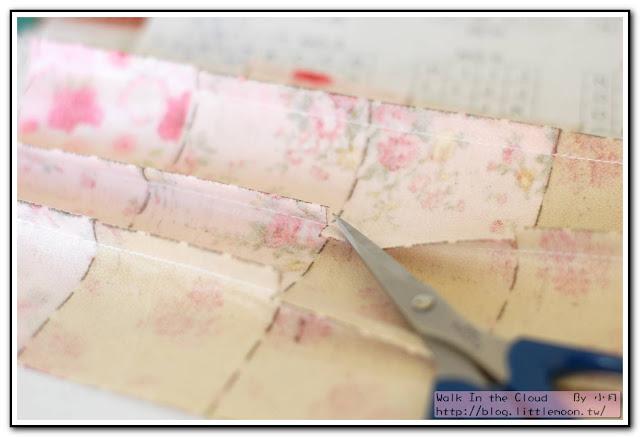 婚戒壁飾 - 用手藝剪刀剪牙口