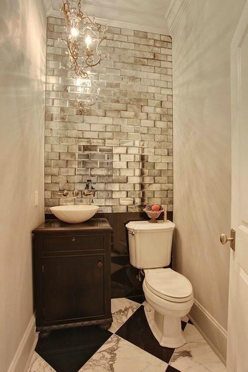 Baños Visita Modernos:Muebles y Decoración de Interiores: Cómo decorar un baño de visita