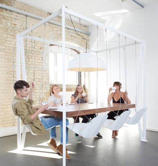 Dise o de muebles creativos modelos para dise o de for Mesa 3 en 1 con 2 sillas