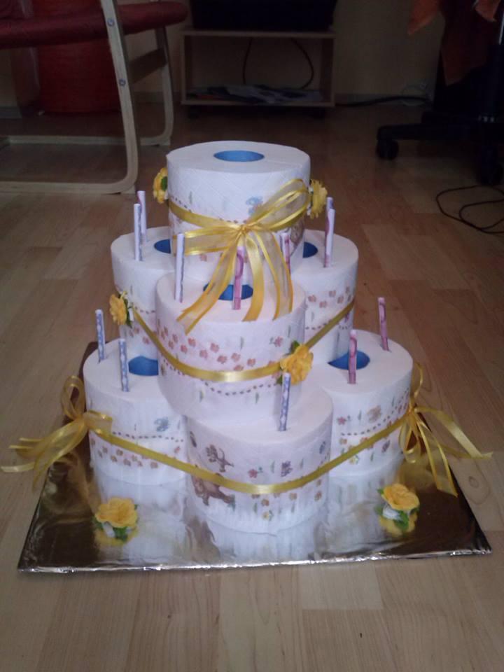Klopapier Torte 18 Originelles Geschenk Zum Geburtstag Neu Picture ...