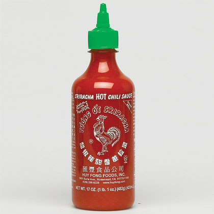 Chilli Sauces Blog: Recenze - Sriracha