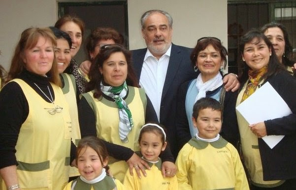 Visita del Gobernador de la Pcia. de Corrientes Dr. Ricardo Colombi