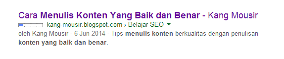 Hasil Pencarian Google