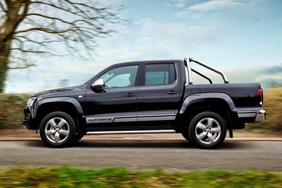 Volkswagen Amarok Ultimate (2015) Side