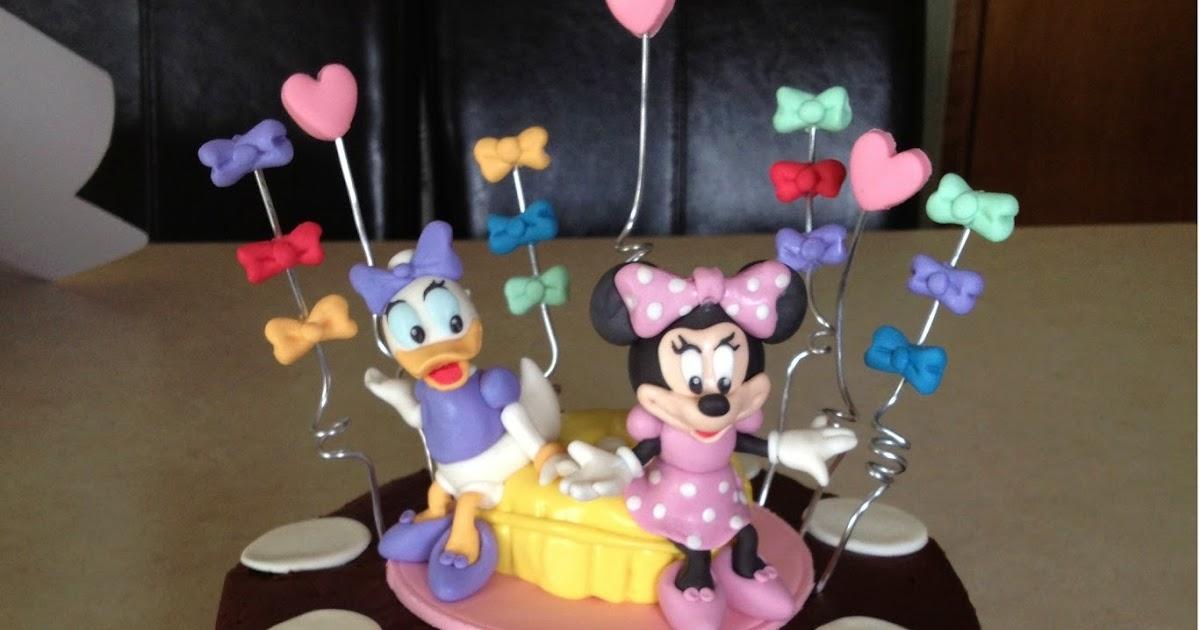 Custom cakes by julie minnie mouse and daisy duck - Minnie et daisy ...