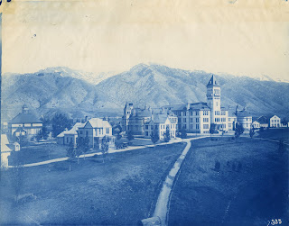 Old Main Hill, Logan Utah, 1900s