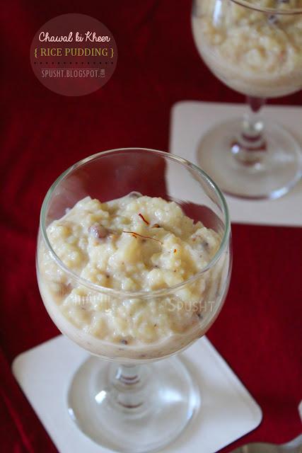 ... Ideas, and more: Recipe: Chawal ki Kheer (Rice Kheer | Rice Pudding